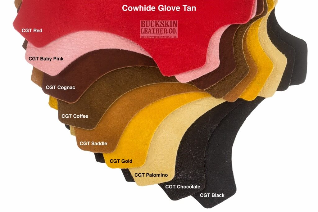 cowhide glove tan leather colors