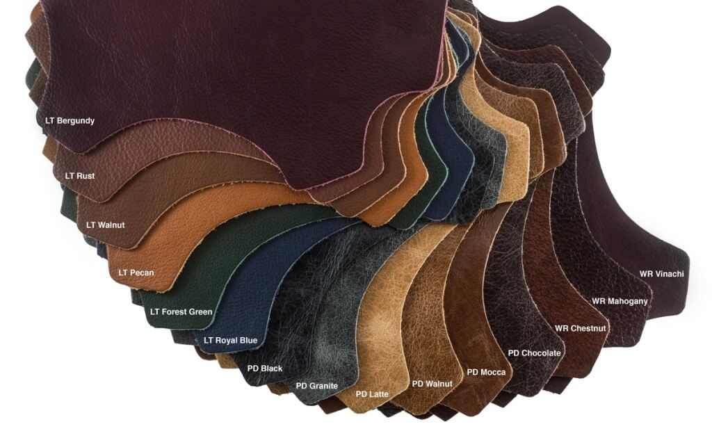 Italian upholstery leather cowhides