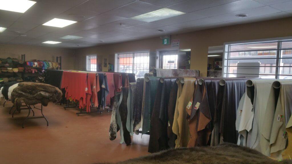 Furs, Full Grain Leathers and Embossed Leather Hides Edmonton