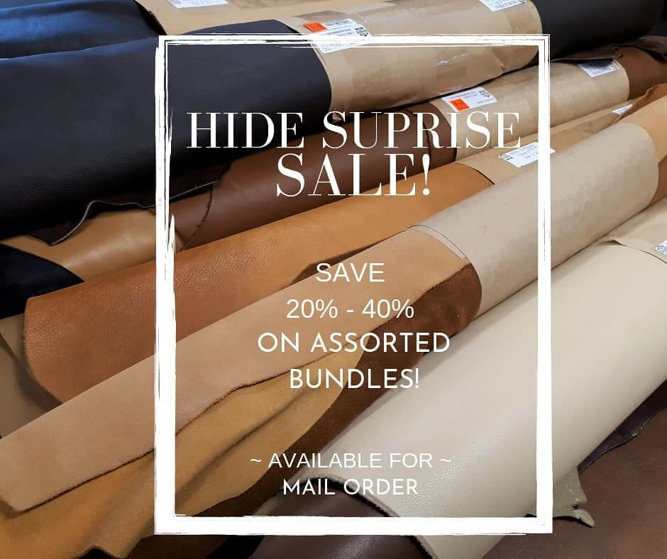 hide surprise sale